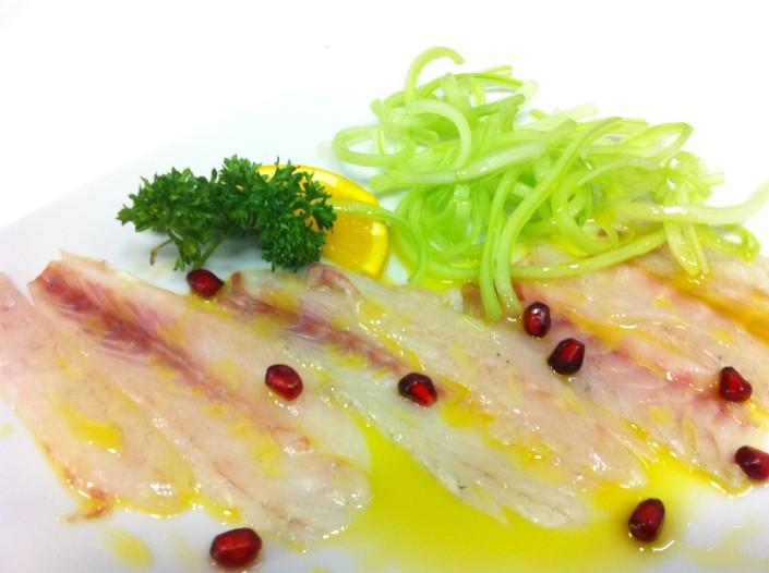 Ristorante Maestrale Roma pesce - Carpaccio di spigola