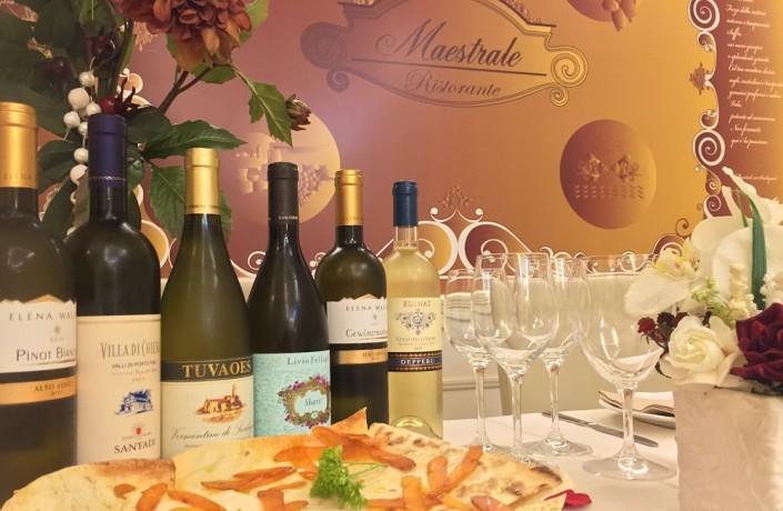 Ristorante Maestrale Roma pesce - Oltre 150 etichete di vino