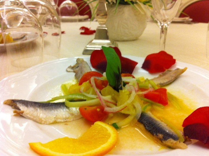 Ristorante Maestrale Roma pesce - Alici marinate alla catalana