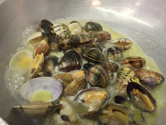 Ristorante Maestrale Roma pesce - Sautè di vongole