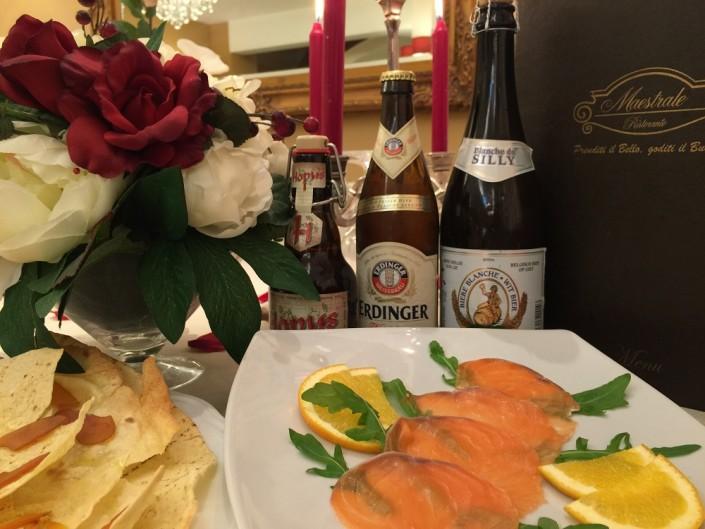 Ristorante Maestrale Roma pesce - Le birre speciali.