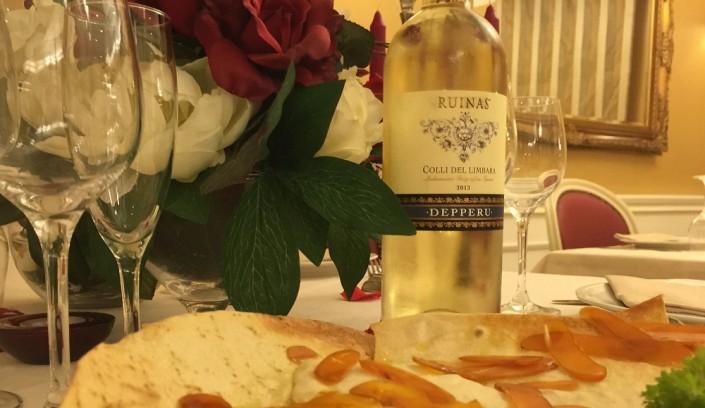 Ristorante Maestrale Roma pesce - Un'ottimo vino!