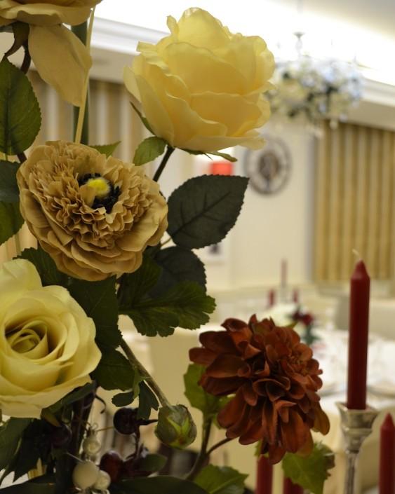 Ristorante maestrale roma pesce - Sala dei fiori
